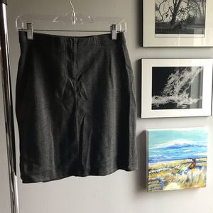 New York & Company grey skirt